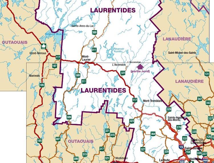 Portail: Régions du Québec   La Mémoire du Québec